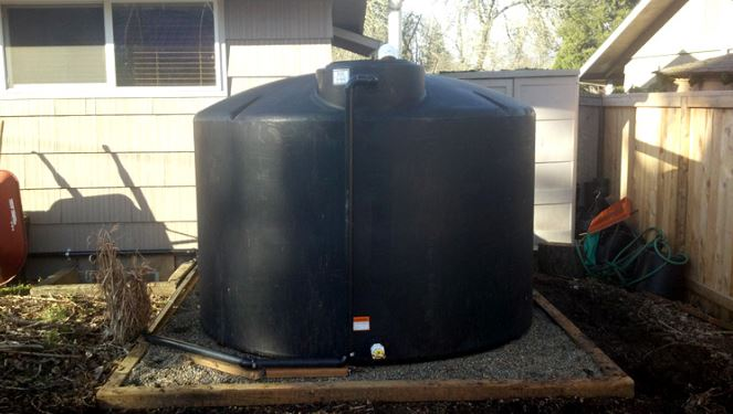 above ground tank