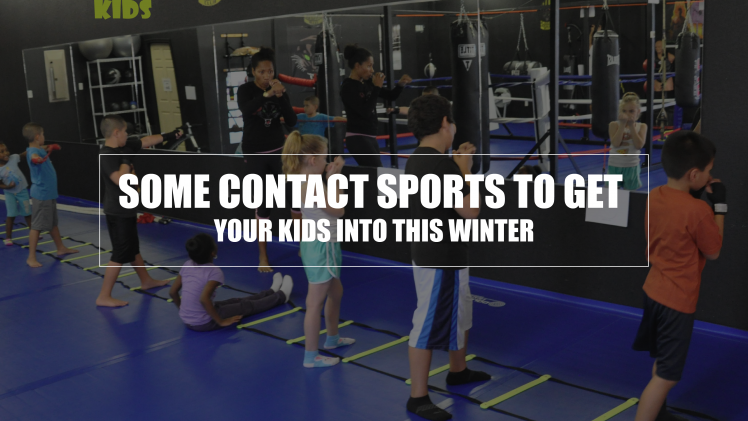 Some Contact Sports to Get Your Kids into This Winter