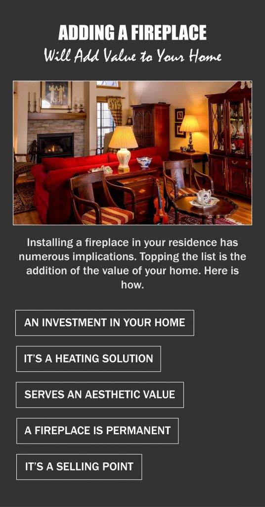 Adding a Fireplace Will Add Value to Your Home