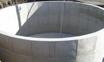 concrete underground water storage tanks