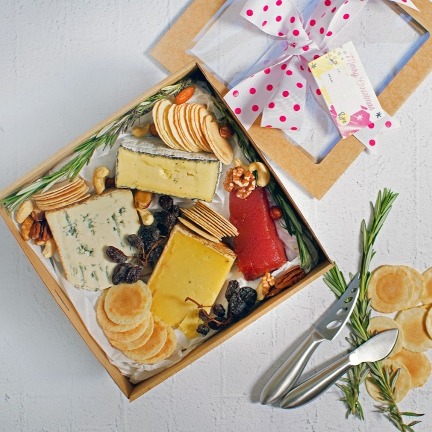 Christmas Cheese Gift Hamper