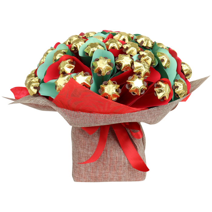 Edible blooms - Christmas Star Bouquet Deluxe
